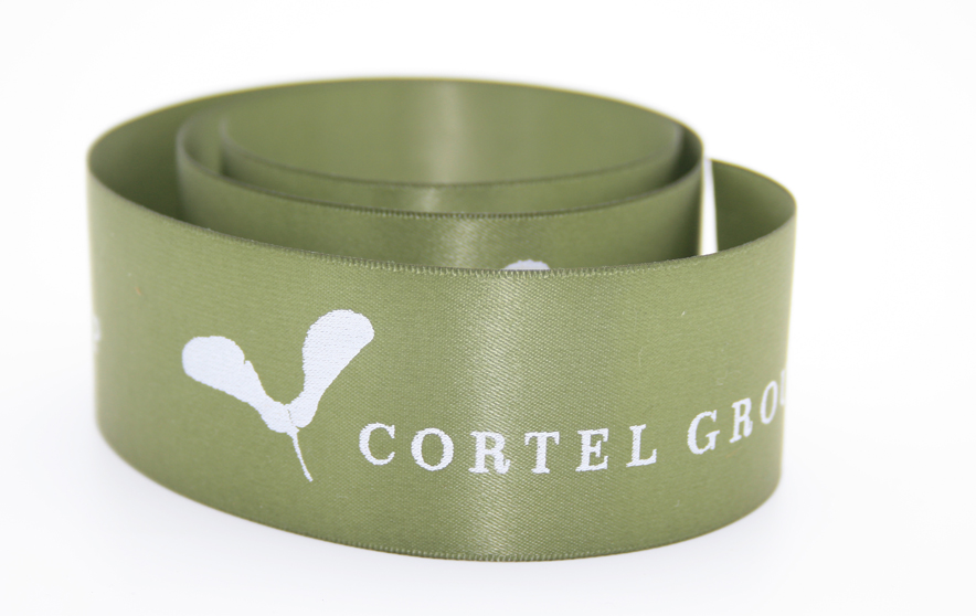 Print your logo on ribbon with FinerRibbon.com