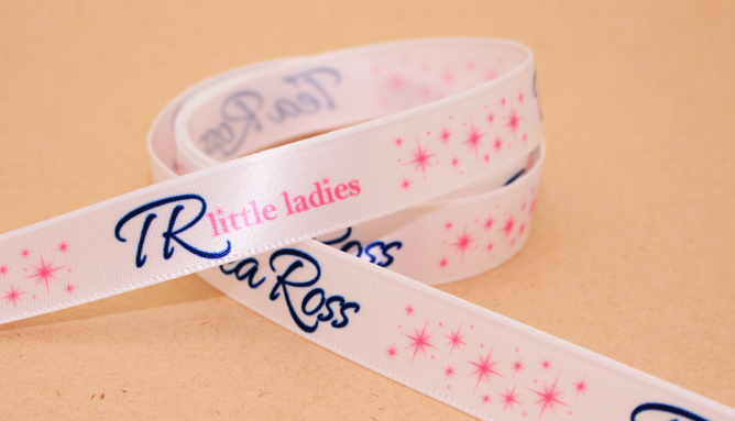 Multicolor Printed & Personalized Ribbon by FinerRibbon.