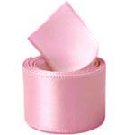 Rose Pink Single Face Satin Ribbon