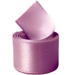 Rosy Mauve Single Face Satin Ribbon