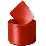 Ruby Single Face Satin Ribbon