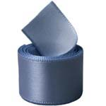 Antique Blue Single Face Satin Ribbon