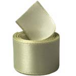 Soft Pine Single Face Satin Ribbon