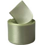 Spring Moss Single Face Satin Ribbon