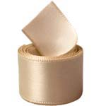Raw Silk Single Face Satin Ribbon