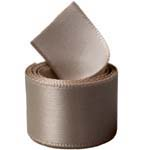 Steel Single Face Satin Ribbon