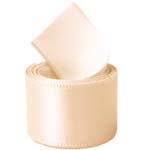 Nude Double Face Satin Ribbon