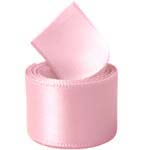 Powder Pink Double Face Satin Ribbon