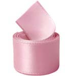 Pink Double Face Satin Ribbon
