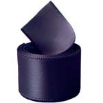 Aubergine Single Face Satin Ribbon