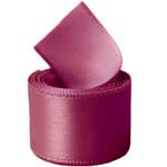 Rosewood Double Face Satin Ribbon