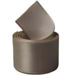 Cafe Au Lait Double Face Satin Ribbon