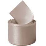 Taupe Single Face Satin Ribbon