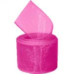 Shocking Pink Organza Ribbon
