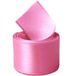 Extra Wide Hot Pink Double Face Satin Ribbon