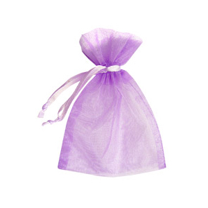 Light Orchid Organza Bag (10 Pack)