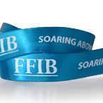 2. Personalized Double Face Satin Ribbon - 100 Yds