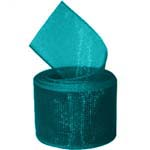 Teal Organza Ribbon
