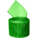 Emerald Organza Ribbon