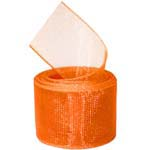 Torrid Orange Organza Ribbon
