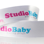 8. Multi Color & Washable Personalized Satin Ribbon - 100 Yds
