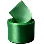 Hill Green Double Face Satin Ribbon