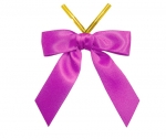 Azalea Satin Twist-Tie Bow (50 Pcs)