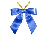 Royal Satin Twist-Tie Bow (50 Pcs)